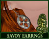 Savoy Earrings Orange