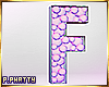 ♡ Balloon Mosaic 'F'