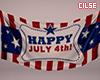 """4th July flag 2"