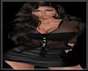 [LM]SheerSatinTop-Black