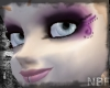 Purple pink curly p skin