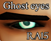 Realistic Ghost eyes