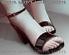H! Black Sandal