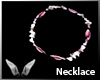 [Sc] Pink Puca Necklace