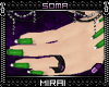 x` Hand+Nails : Green