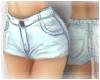 ~<3 Snow Denim Shorts