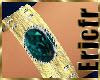 Bracelet Emerald on Gold