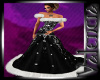 {CV}Christmas Gown Black