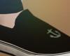 Black Anchor Vans:M