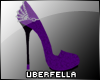 UF *Elegance* Shoe Purpl