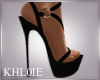 K laz black heels
