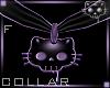 CollarBlackPurple F2aⓀ
