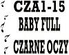 BABY FULL - CZARNE OCZY