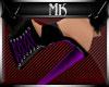 !Mk! Bat Mules Purple