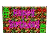 Candy Birthday Banner