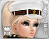 PB Navy White Cap