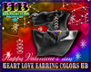 HEART LOVE EARRING COLOR