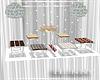 H. White Dessert Table