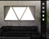 Triangle light panel