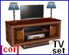 [cor] Plasma TV + stand
