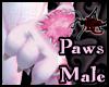 Pink Plushie Neko Paws M