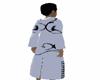 long tribal coat