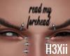 Read My Forehead FaceTat