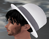 White Hat n Hair