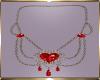 C21 Red Diamond Necklace