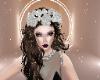 aria flower crown