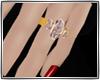 Firestone wedding ring