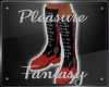 ~PF~ Bootz ~ Red