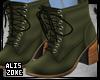 [AZ] Olive Boots