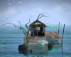water party hut