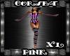 Corset Pink XL