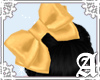 Satin Bow~ Gold I