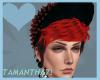 Josh Hat & Hair red