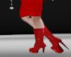 crimson devil boots