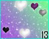 Asexual Pride Hearts