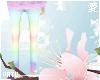 Pastel Rainbow Pants (M)