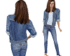 Jean jacket and jeans 2