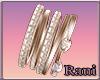 Bracelet R Rose Brillint