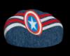 captain america beanbag