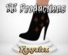 Boot Black&Rose[YK]