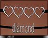 !M! Diamond Necklace