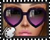 (*A) Heart Sunglasses CV