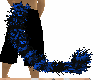 ~mkk~ blk blue strp tail