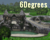medieval grandior castle