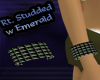 (rt) studded emerald