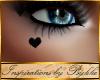 I~Black Heart Eye Tat*Rt